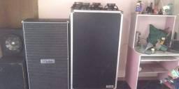 Caixa Gabinete 8x10 Estilo Dahm P/ Bass Baixo + Case + 4 Falantes Electro Harmonix