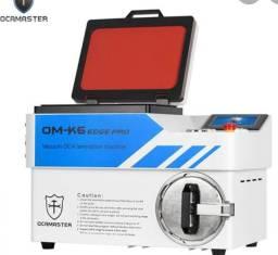 Ocamaster OM-K6 edge pro máquina de laminação