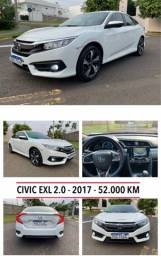Título do anúncio: Civic Exl 2017