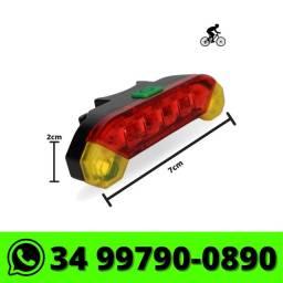Lanterna Traseira para Bike Sinaleira Bicicleta