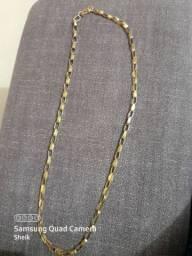 Cordão de ouro 18k,16.1gramas ,valorR$3,800.00