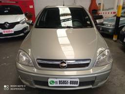 Corsa Sedan Premium 1.4 Flex 8v 2011 /2011 Bege Confira !!