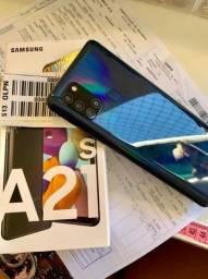 Samsung A21 S com nota fiscal