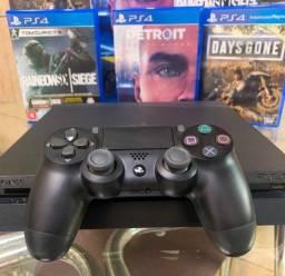 Vendo PS4 1TB + 3 jogos