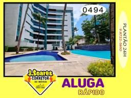 Ponta de Campina, Mobiliado, 4 suítes, 206m², R$ 5000 C/Cond, Aluguel,Apartamento,Cabedelo