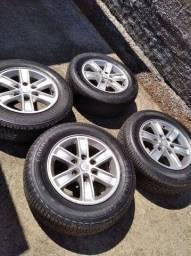 Título do anúncio: Jogo roda com pneu