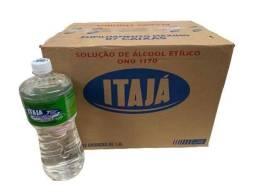 Título do anúncio: Caixa de Álcool com 12 Litros (Fazemos entregas)