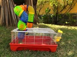 Título do anúncio: Gaiola e pista Hamster