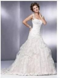 Vestido de noiva seminovo