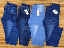 Título do anúncio: 06 peças Calças Jeans Masc R$ 282,00