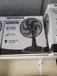 Vendo ventilador Mondial aceito cartão de crédito e débito parcelo