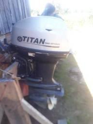 Motor de popa titan 40 hp