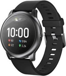 Relogio Smartwatch Haylou Ls05 Xiaomi Global Original Inteligente + 2 Películas