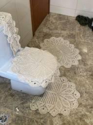 Jogo de banheiro crochê