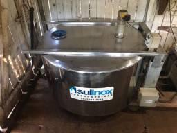 Vendo resfriador de leite 800L + ordenha + 40m de cano