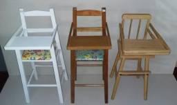 Cadeirinha papa madeira Nova cadeira de refeição cadeirote a partir