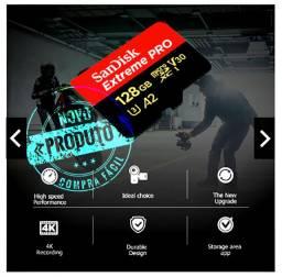 Cartão Sandisk Extreme Pro 128gb - Com Adaptador - Original
