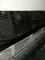 Freezer forrada com cobre por dentro com duas portas