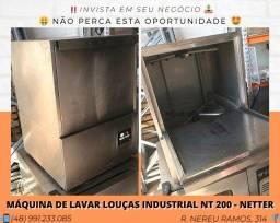 Máquina de Lavar Louças Industrial NT 200 - Seminova - Com garantia | Matheus