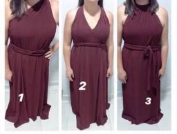 Vestido 3 em 1
