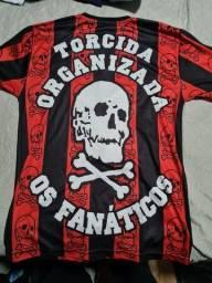Camisa Torcida Os fanaticos Athletico Paranaense M