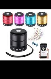 Mini Caixinha Som 887 Bluetooth Portátil