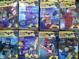 Brinquedos lego super herois e vilçoes varios modelos