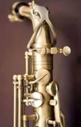Sax Alto Eagle SA500 Vintage Gold Profissional