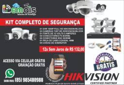 Câmera de segurança com garantia e alta qualidade