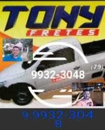 Frete 9932.3048 Saveiro TONY Aracaju e Interior