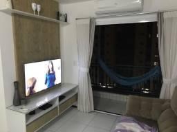 Apartamento no Calhau com 3 quartos sendo 1 suíte _vista mar com móveis planejados