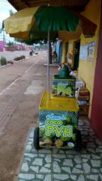 Carrinho pra venda de agua de coco em perfeito estado, parcelo no cartao de crédito!
