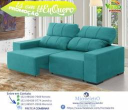 Sofá Confort Retrátil e Reclinável *Em Promoção