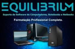 Manutenção e Formatação de PCs, Notebooks e Netbooks