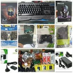 Acessórios para videogame/TV/Pc e Celular