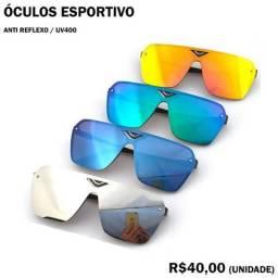 Óculos Esportivo Anti Reflexo UV400