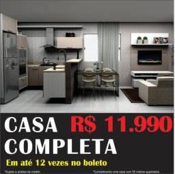 Casa completa por apenas r$ 11.990,00