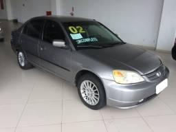 Civic lx 1.7 16v gasolina 4p manual - 2002