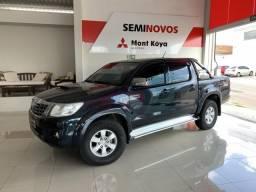 Toyota Hilux CD SRV D4-D 4x4 3.0 TDI Diesel Aut - Preto - 2012 - 2012