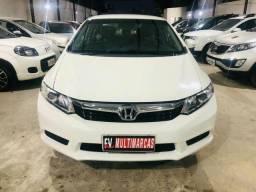 Honda Civic 2012/12 Aut Multimídia Couro Garantia! - 2012