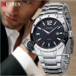 4f60330a8cf Relógios Masculino importado Curren original aço inoxidável