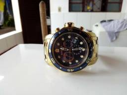 f270f8285f6 Relógio Invicta Pro Diver 23651 ouro 18k