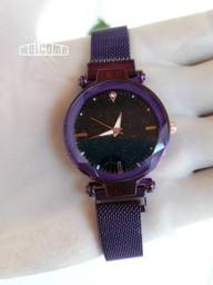 Relógio Yuhao Feminino de luxo 2019 Céu Estrelado