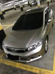 Vendo Honda Civic EXS - Top de linha, teto solar, multimídia de fábrica - 2012