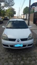Vendo Renault Clio sedan authentique Hi-Flex 2006 1.0 16v completo - 2006