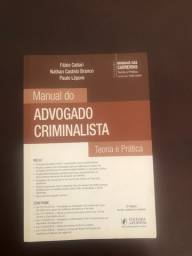 Manual do Advogado Criminalista - Juspodivn