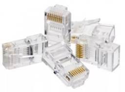 Conector Rj45 Kit com 10 Unidades - Imperium Informatica