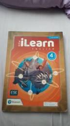Livro didático de inglês New I Learn English