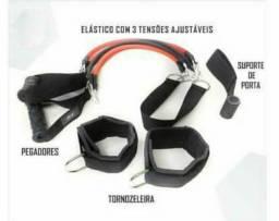 Kit elastico extensor treino em casa comprar usado  Brasília