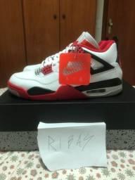 Nike Air Jordan IV ?Fire Red? Tamanho 40